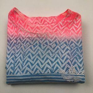 Vintage Adidas Trefoil Neon t-shirt